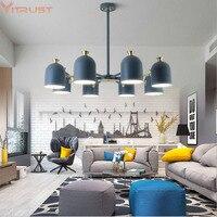 Nordic Chandelier Lamps Fixture lampara Home Lighting Luxury Creative Modern Hanging Lamp Dining Living room Bedroom Cafe Bar