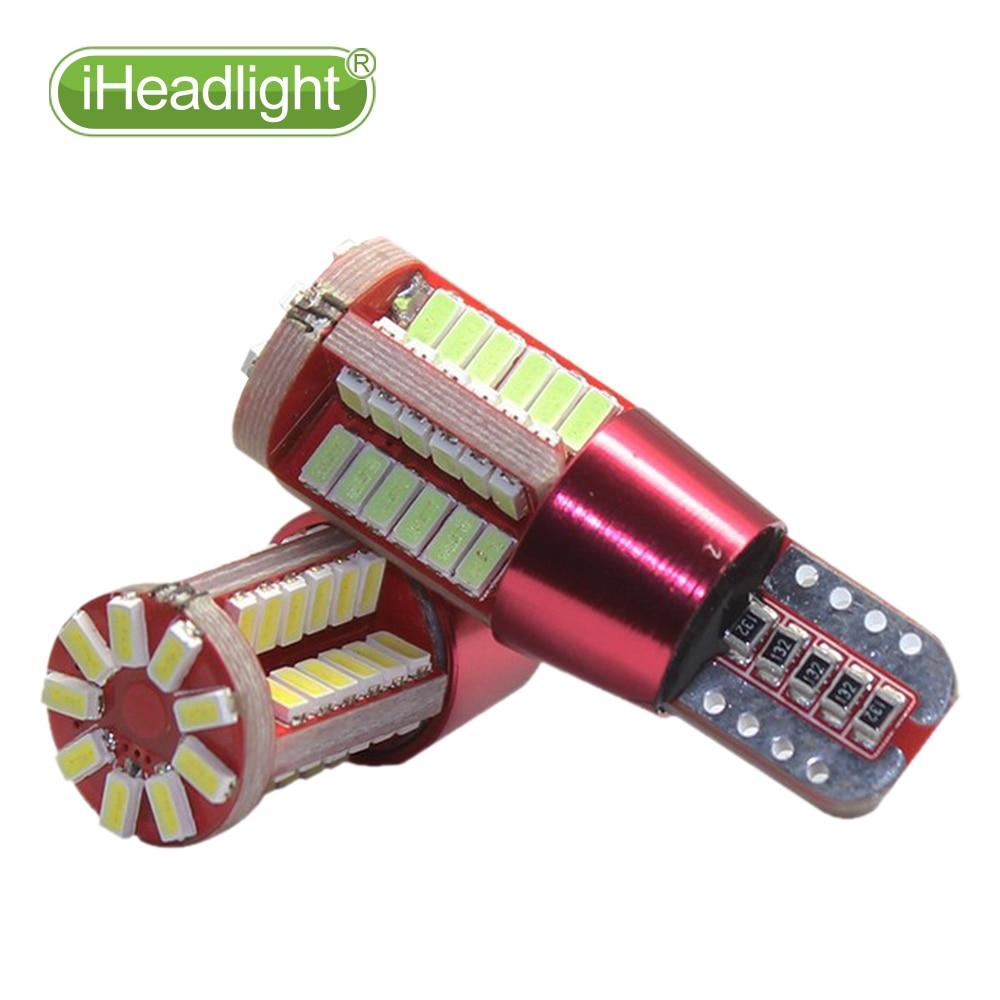 4x T10 W5W 194 3030 LED ampul 12V Dönmə Yan Lisenziya Plitəsi - Avtomobil işıqları - Fotoqrafiya 5