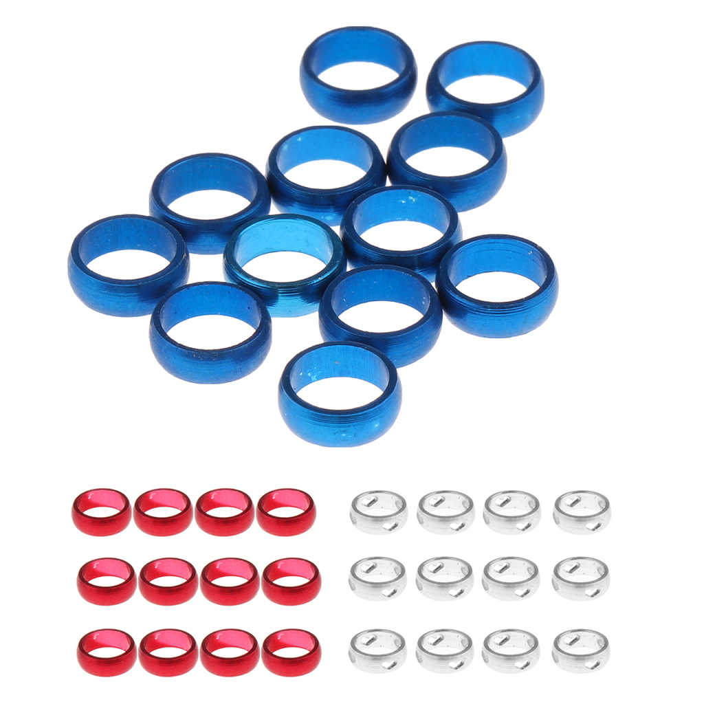 Dart   Punch Hole Puncher 12 Pcs Flights O Rings Sharft Protect Red