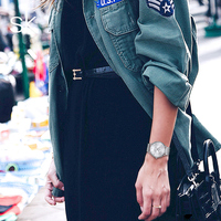 ShengKe Women Black Creative Dress Quartz Wristwatches Casual Fashion Simple Waterproof Watches Clock Female Relogio Feminino