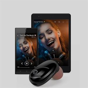 Image 5 - S750 Bluetooth אוזניות מיני אלחוטי Invisible ספורט באוזן מיקרו סאונד אוזניות השמעת מוסיקה באיכות גבוהה