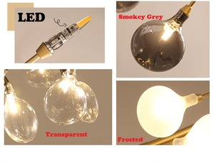 Image 4 - Modern firefly LED Chandelier light stylish tree branch chandelier lamp decorative firefly ceiling chandelies hanging Lighting