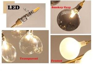 Image 4 - Moderna firefly HA CONDOTTO LA luce Lampadario elegante ramo di un albero lampadario lampada decorativa firefly soffitto chandelies di Illuminazione A sospensione