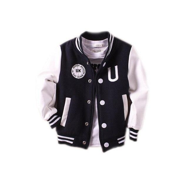 54578e6e8 New Boys outerwear 2018 baby boy jacket spring autumn long sleeve pu ...