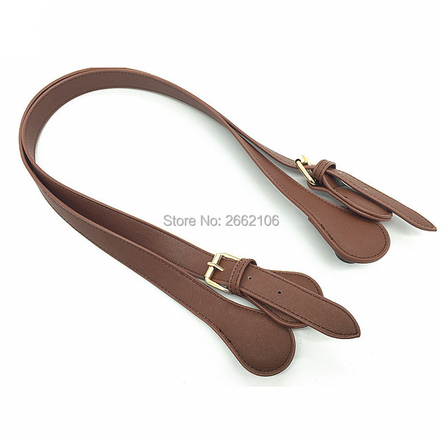 bag handles for O TOTE bags leather PU handles for silicone bag
