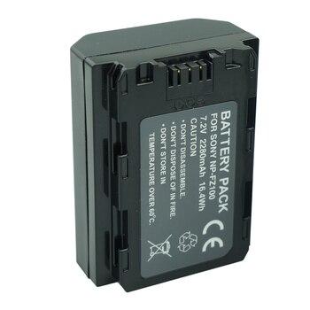 2280mAh NP-FZ100 BATTERY NP FZ100 Battery For Sony NP-FZ100 BC-QZ1 Alpha 9, A7RIII, ILCE-7RM3, A9, Sony A9R Sony Alpha 9S Camera фото