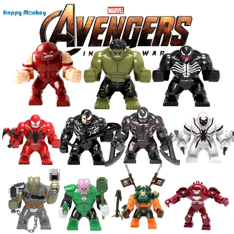 Marvels Avenger 4 Singel Sale Super Heros Bricks building blocks Educational DIY figures Compatible with  legoINGly Toys wy30