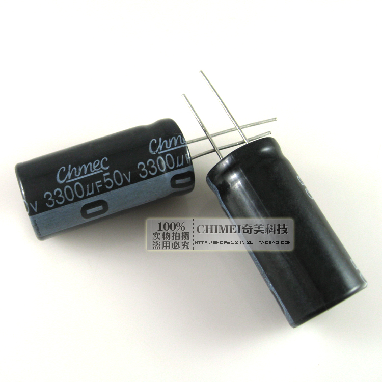 Electrolytic Capacitor 50V 3300UF Capacitor