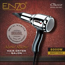 ENZO Professional Hair Dryer Brush 8000W Negative Ionic Blow Dryer Strong Wind Powerful Salon Hairdryer Diffuser for Hair Dryer