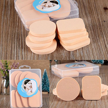 8 Pcs Cosmetic Eye Makeup Face Foundation Powder Primer Puff Sponges for Dry and Wet