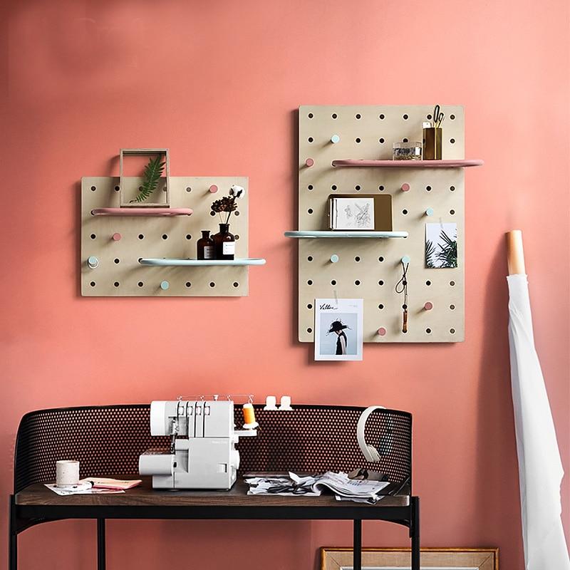 Nordic Wall Decoration Magazine Storage Board Kitchen Holders
