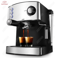 MD2007 muti function full automatic italy type espresso Cappuccino coffee maker machine with high pressure steam for home use