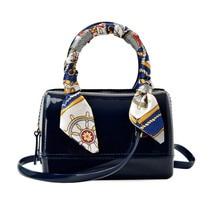 2017 Fashion Mini Bucket Bag Women Silicone Barrel bag Women Evening bag High Quality Female Style Jelly handbags