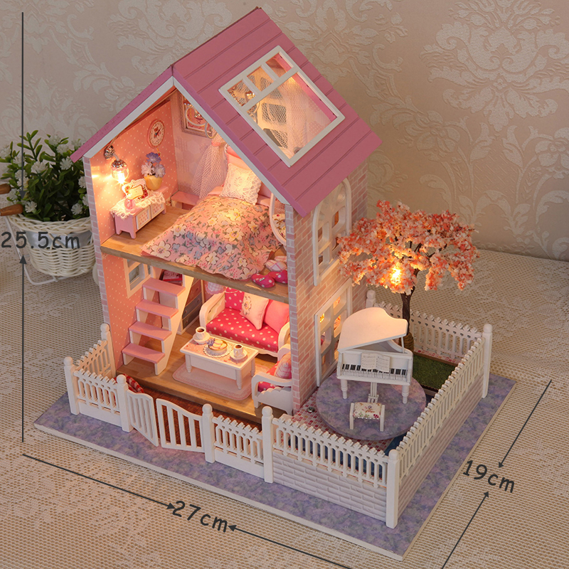handmade dolls house furniture. Aliexpress.com : Buy Handmade Doll House Furniture Miniatura Diy Houses Miniature Dollhouse Wooden Toys For Children Birthday Gift Craft A036 From Dolls E