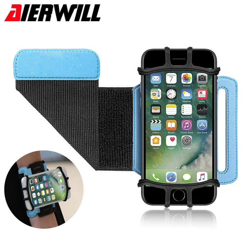 Women Men Sports Running Wrist Bag for Apple iPhone 6 7 7S Plus Case Cover Phone
