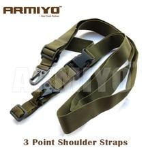Armiyo 3 Point Adjustable Bungee Hunting Camera Strap Wrap R