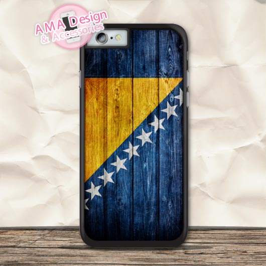 Bosnia And Herzegovina Flag Protective Case For iPhone X 8 7 6 6s Plus 5 5s SE 5c 4 4s For iPod Touch