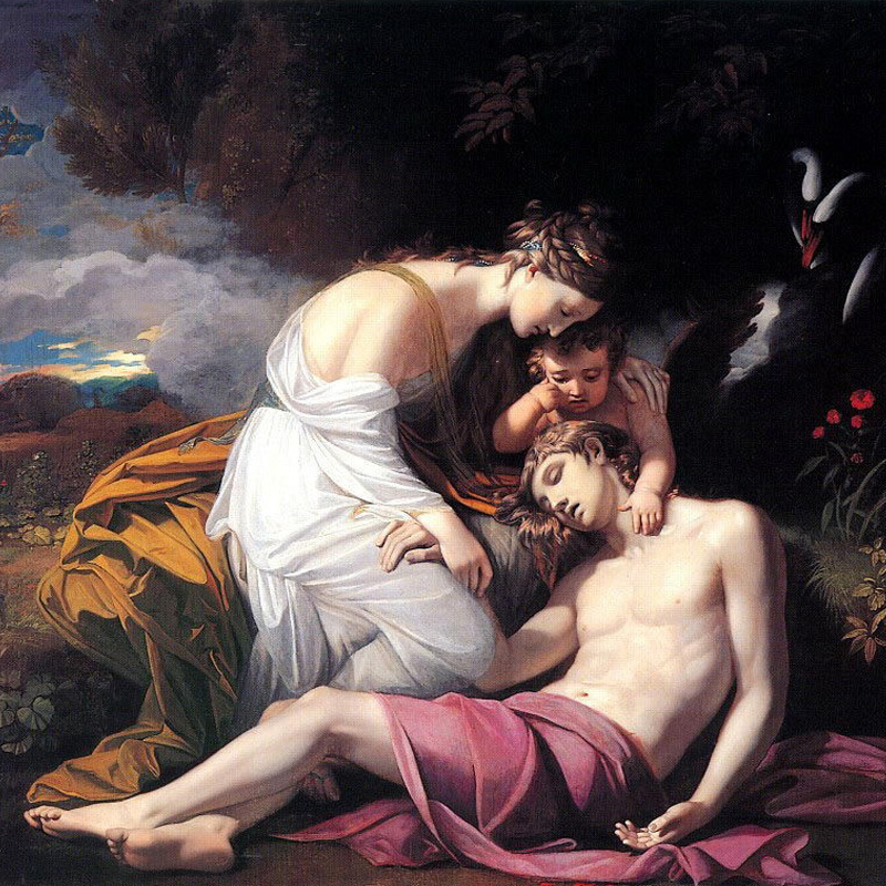 aphrodite goddess painting - 1000×846