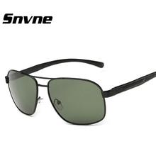 Los Hombres de conducción polarizada gafas de Aviación de Magnesio Y aluminio gafas de sol gafa Snvne lentes gafas de soleil luneta oculos gafas de sol hombre