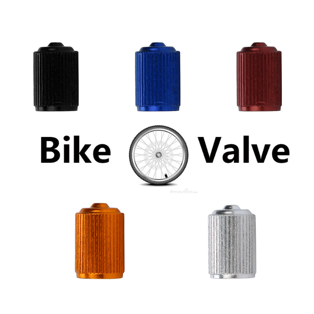 4pcs New Fashion Bike Aluminum alloy Truck wheel Tire Valve Stem Caps