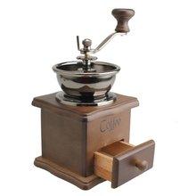 TFBC Mini Holz Kaffeebohne Spice Vintage Stil handschleifer