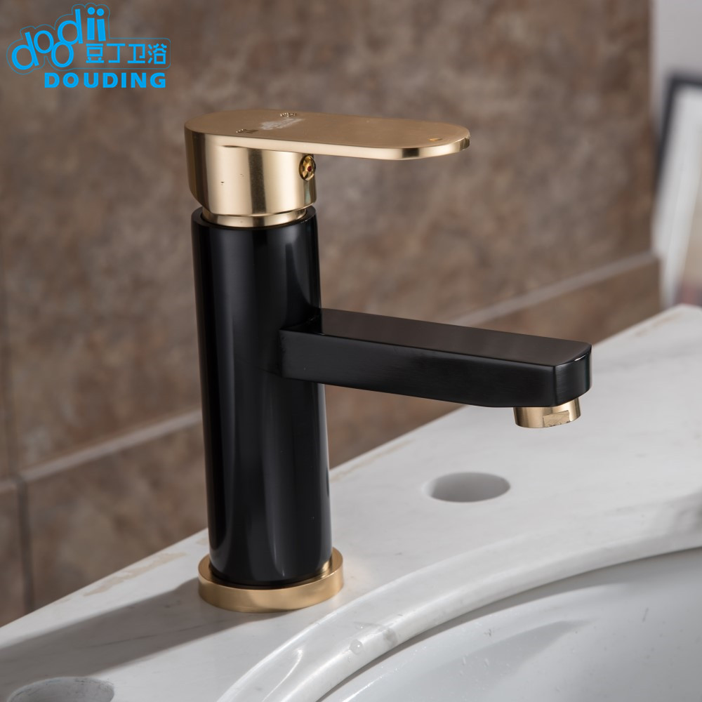 Doodii Hot And Cold Water Classic Bathroom Faucet Space Aluminum ...