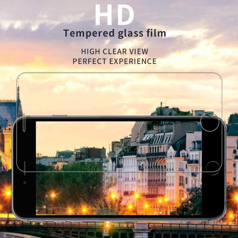 Clear Ultrathin Screen Protector กระจกนิรภัยฟิล์มสำหรับ Samsung Galaxy A3 A5 A7 A6 A8 Plus 2016 2017 2018 J3 j5 J7 Pro 2017
