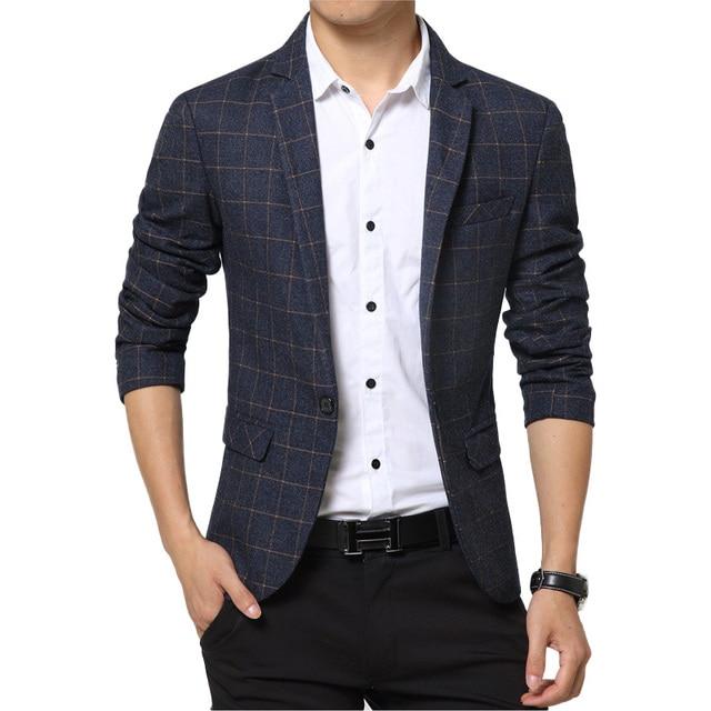 Aliexpress.com : Buy Men Casual Blazer Nice Spring Mens Suits ...