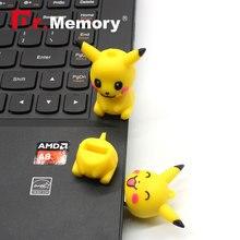 USB 2.0 Flash Drives Pikachu Pendrive 64GB Real Capacity 4GB 8GB 16GB Memory Stick 32GB