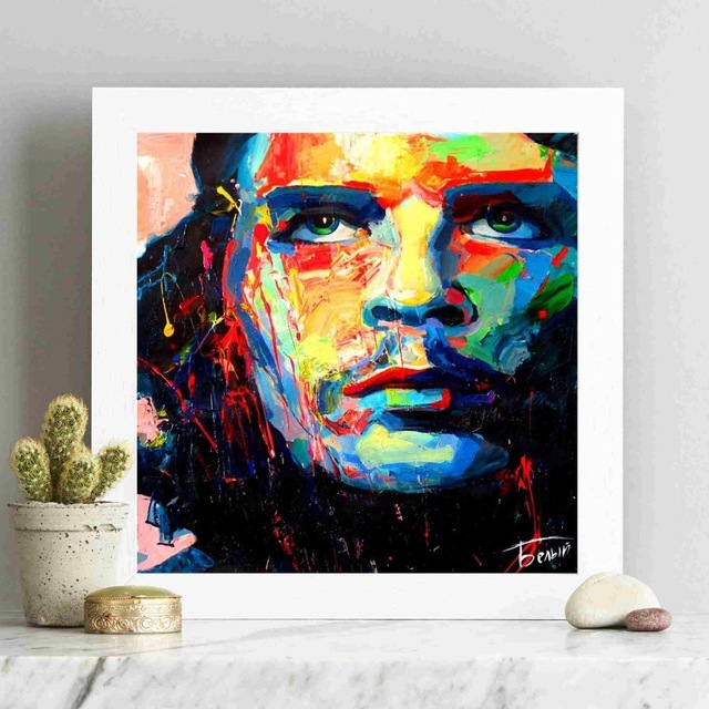 Francoise Nielly Portraits Canvas Art Paint Painting Poster Wall Pictures For Living Room Home Decorative Bedroom Decor No Frame