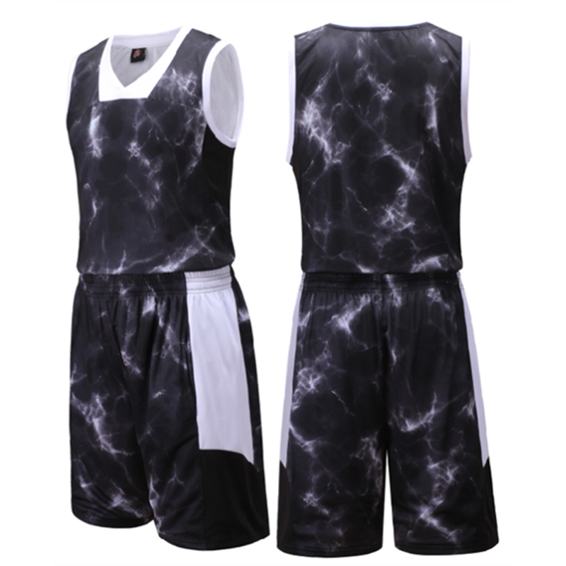 1635fd051 Top Quality professional men basketball jersey set new boys college team training  jersey suits breathable sports jersey uniforms-in Basketball Jerseys from  ...