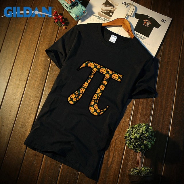 3d48baafe Fitness Men T Shirt halloween pumpkin pi thanksgiving T-shirt pumpkin pie  math carved fall math nerd math geek Tshirt Camisetas