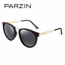 PARZIN Brand Polarized  Women Sunglasses Classic Retro Big Metal Frame Fashion Driving Glasses Shield Anti UV400  Quality  9297