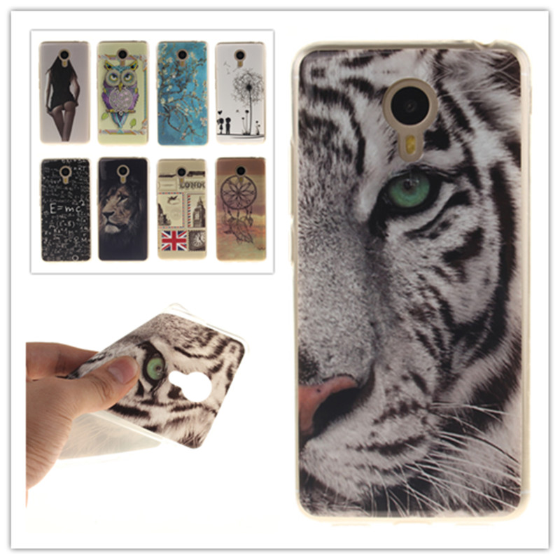 <font><b>V</b></font> case for MEIZU Meilan <font><b>m3</b></font> NOTE note 3 Cover Slim Soft TPU Case <font><b>Phone</b></font> Protective Back Covers colorful pattern case