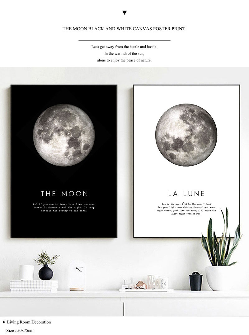 Moonyshine moon deco art