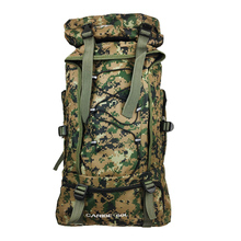 Hiking backpack 60l camouflage outdoor camping backpack Climbing Bags men and women sports bag