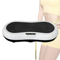 Fitness Vibration Plate Machine Whole Body Vibration Platform Plate Fitness Machine Workout Trainer Power Weight Loss Kit HWC