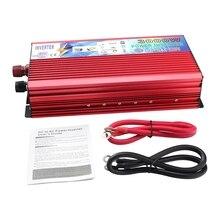 12 V a 220 V Inverter 3000 W Auto Inverter 12 v 220 v Inverter di Potenza del Convertitore Portatile Auto di Potenza caricatore di alimentazione USB