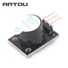 5PCS New For Arduino Smart Car9012 Transistor Active Buzzer Alarm Module Sensor Beep ky-012(China)