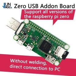 O raspberry pi zero w pi zero wh badusb placa pacote pi0 addon placa