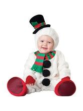 Черная Пятница 2016 Christmas Xmas Костюм Младенческой Ребенка Мальчики Снеговик Комбинезон Косплей Новорожденных Малышей Одежда Набор