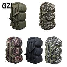 Gzl 90L большая емкость военно-дорожные сумки Оксфорд/холст рюкзак камуфляж вещевой мешок водонепроницаемый рюкзак TB0070