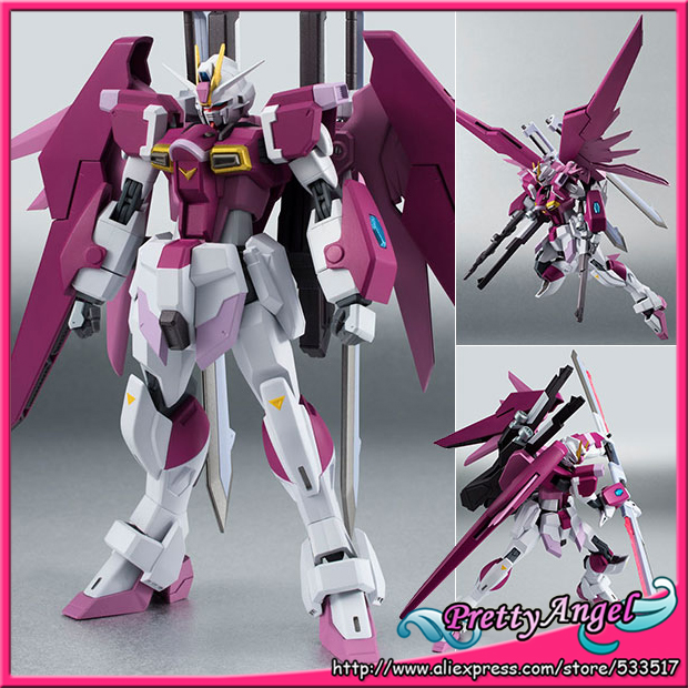 Original Bandai Robot Spirits NO.200 Mobile Suit Gundam SEED Destiny MSV Action Figure - Destiny Impulse Gundam bandai фигурка fw gundam converge sp08 destiny