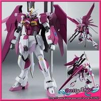 Original Bandai Robot Spirits NO.200 Mobile Suit Gundam SEED Destiny MSV Action Figure Destiny Impulse Gundam
