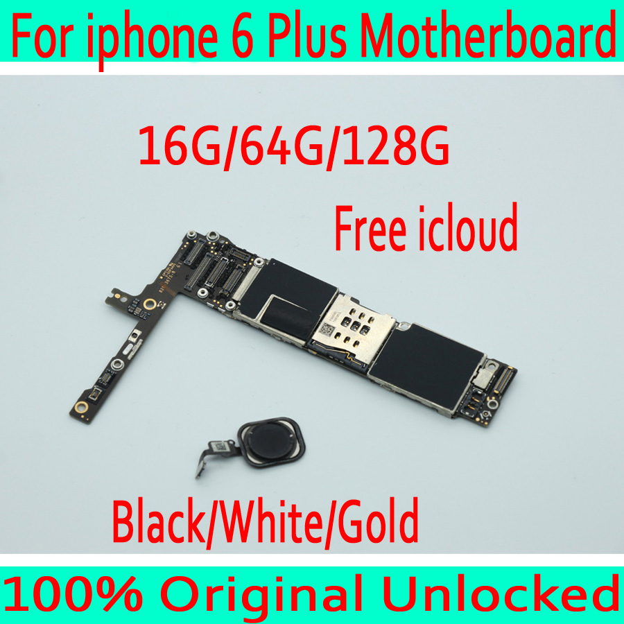 Black /White / Gold Factory unlocked for iphone 6 Plus Motherboard with Touch ID,Original for iphone 6Plus Mainboard+Free iCloudBlack /White / Gold Factory unlocked for iphone 6 Plus Motherboard with Touch ID,Original for iphone 6Plus Mainboard+Free iCloud