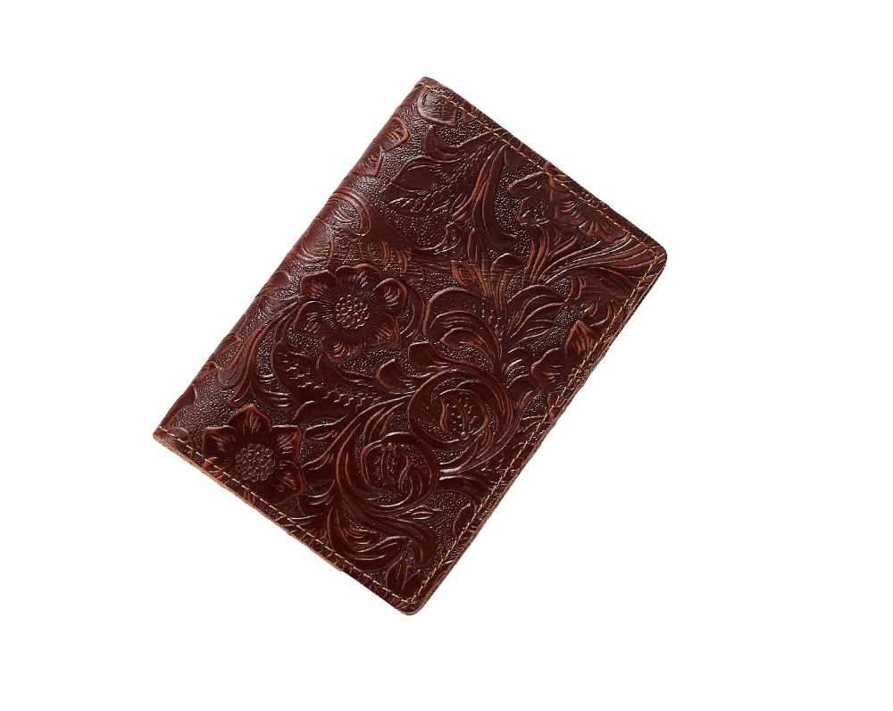 K018-- Luxury Genuine Leather Passport Holder Wallet_01 (26)