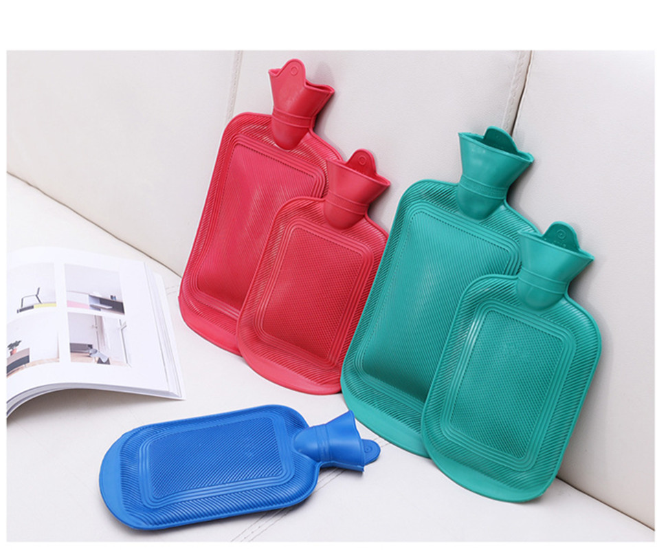 3 Size Water Filling Pvc Rubber Hot Water Bottle Hand Warming Water Bottles Winter Hot Water Bags Bottle in Hot Water Bottles from Home Appliances