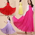 2016 Hot New summer Maternity Dresses long Chiffon Bohemian Dress Clothes For Pregnant Women Maternidade Pregnancy Clothing