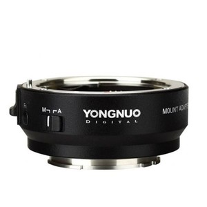 Image 1 - YONGNUO YN EF E השני חכם מתאם הר עבור Canon EF EOS עדשה לסוני NEX E הר A9 A7 השני a7RIII A7SII A6500 מצלמה