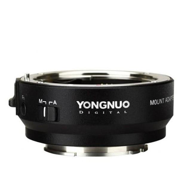 YONGNUO YN EF E השני חכם מתאם הר עבור Canon EF EOS עדשה לסוני NEX E הר A9 A7 השני a7RIII A7SII A6500 מצלמה